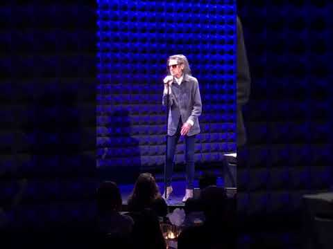 Dr. John Cooper Clarke at Joe's Pub, April 8, 2018