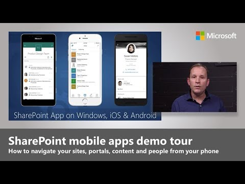 Your Intranet in Your Pocket: The SharePoint mobile app