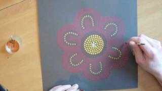 doing Aboriginal painting