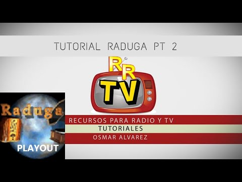 RADUGA PLAYOUT TUTORIAL 2 REFRESH DE LISTAS