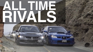 EVO IX vs STI | ALL TIME RIVALS