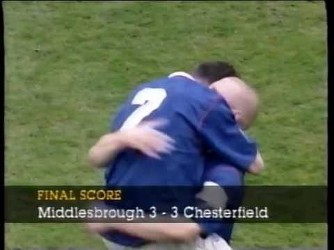 Middlesbrough 3 Chesterfield 3 1996-97 FA Cup semi-final