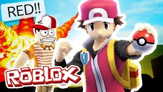 Roblox Adventures / Project Pokemon / RED POKEMON MASTER!