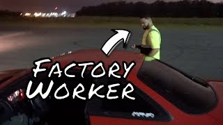 Video When the Factory Worker Catches You Street Drifting.... You Take Him for a Ride Along! download MP3, 3GP, MP4, WEBM, AVI, FLV November 2017