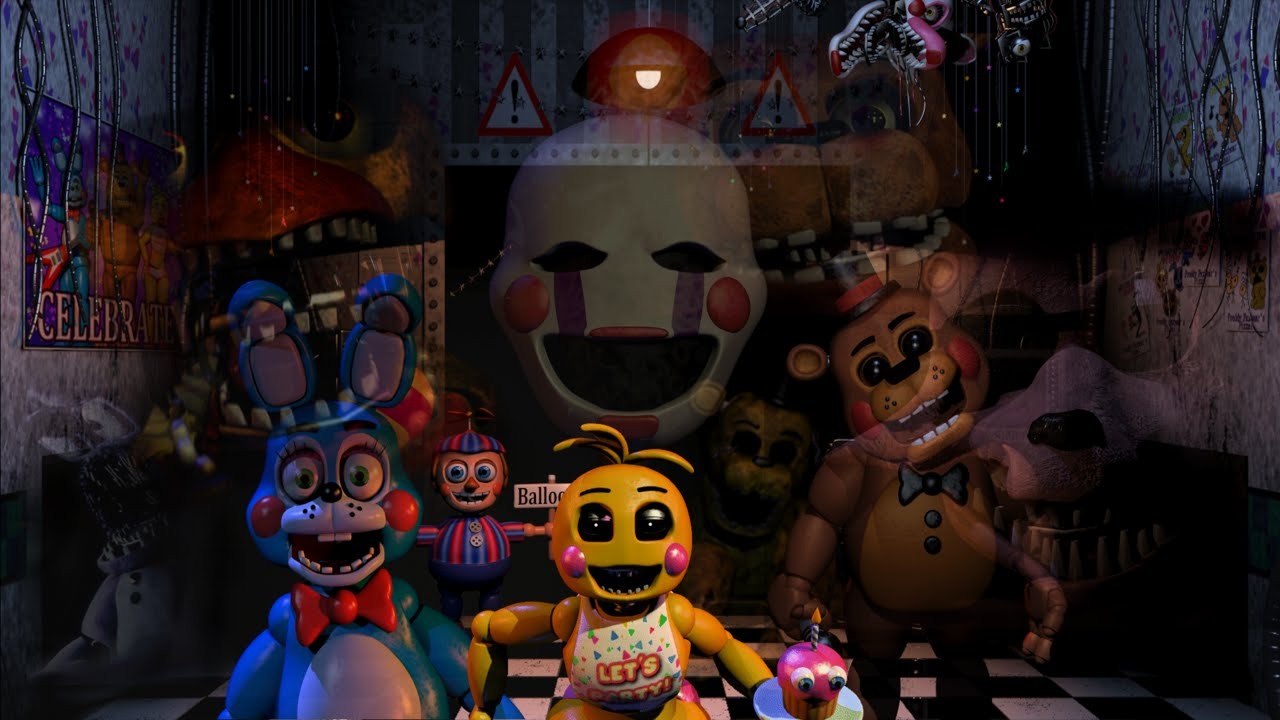 Five nights at freddy s all character themes youtube