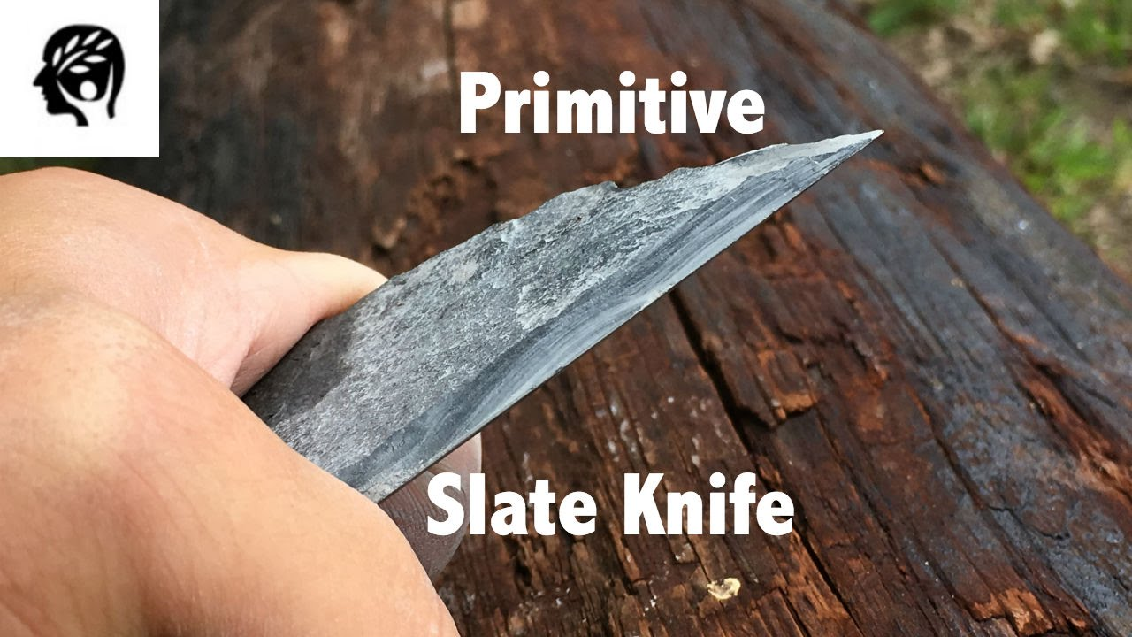 Primitive Knife Primitive Slate Knife Youtube