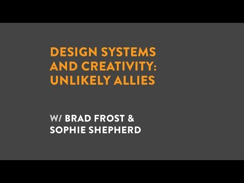 Design Systems and Creativity: Unlikely Allies