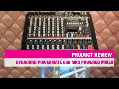 Review Dynacord PowerMate 600 MK3 powered mixer