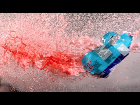 Download Youtube: Compressed Air Cannon in Super Slow Mo - The Slow Mo Guys