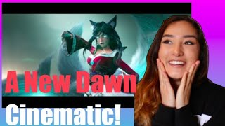 League Of Legends: A New Dawn Cinematic Reaction