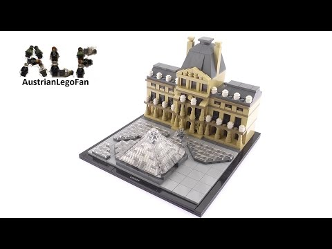 Lego Architecture 21024 Louvre - Lego Speed Build Review