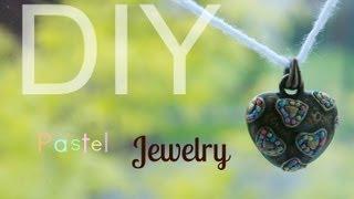diy | pastel jewelry Thumbnail