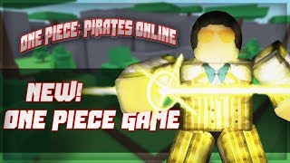 WIP! | New One Piece Game | One Piece Adventures | Roblox