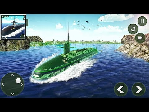 US Army Transporter Submarine Driving Games (by Titan Game Productions) / Android Gameplay HD