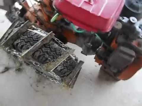 Catene su motocoltivatore valpadana youtube for Ricambi valpadana