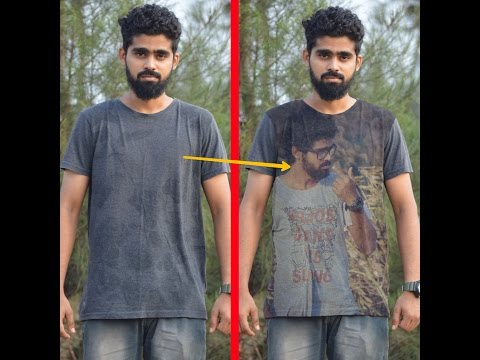 In 1 minute Make your own Picture on your T Shirt PicsArt Tutorials || Easy way to edit