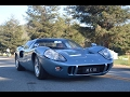 1967 FORD GT40 MARK III COUPE | $5 million car driving on the road | Monterey Carweek 2015