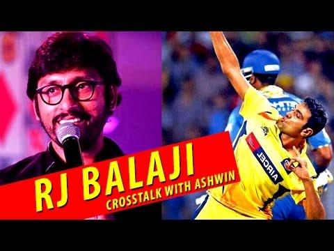RJ Balaji Cross Talk with Cricketer Ashwin | Cross Talks
