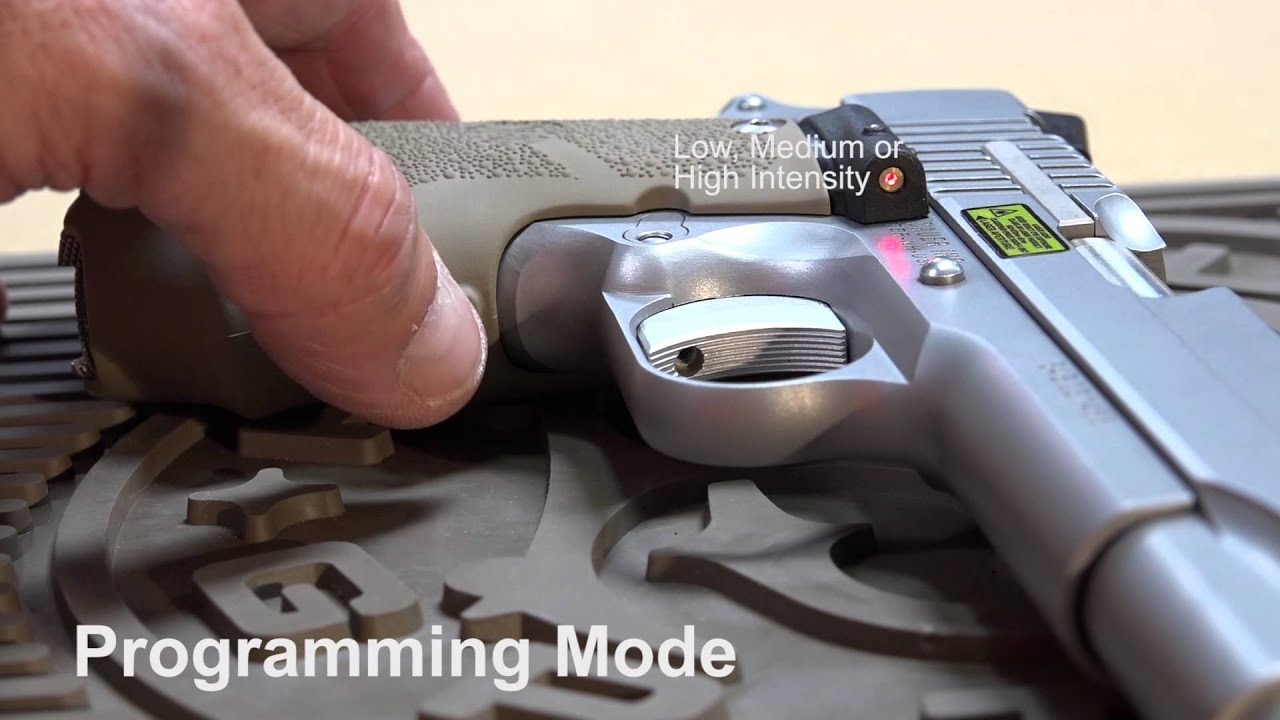 Hogue LE Grip for 1911 Installation and Programming