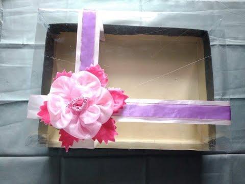 Tutorial Membuat Kotak Mahar Transparan Berbagi Cara