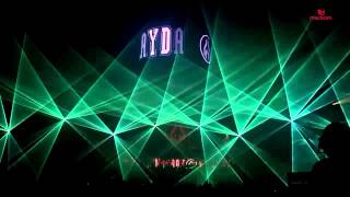 Pokaz laserowy MAYDAY Katowice 2014 MEDIAM EVENT