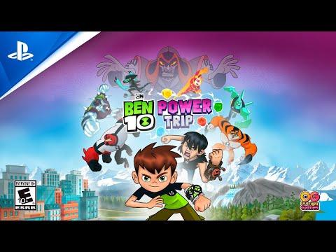 Ben 10 Power Trip Launch Trailer Ps4 Youtube
