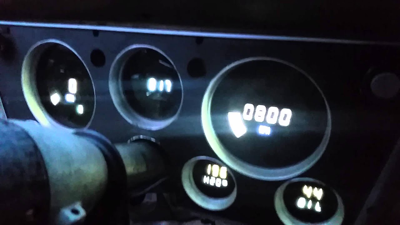Intellitronix Digital Gauges : Intellitronix digital gauges will stovall youtube