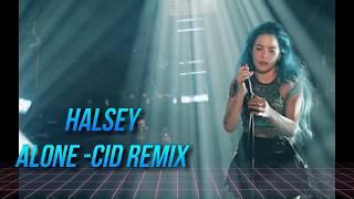 Halsey  Alone Cid Remix Audio Ft Big
