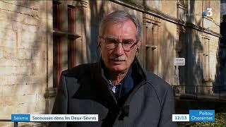 Entretien avec le maire de Coulonges-sur-l'Autize dans les deux-Sèvres après le tremblement de terre