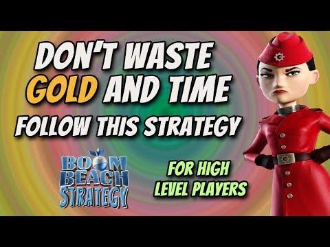 Gearheart's War Factory | Don't Waste Gold | No Reinforce | Boom Beach Strategy 12.10.2017
