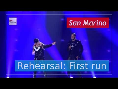 Valentina Monetta and Jimmie Wilson - Spirit of the Night - San Marino - Live - Full Rehearsal (4K)