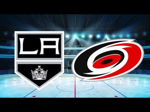 Los Angeles Kings vs Carolina Hurricanes (3-2) All goals and Highlights!! [Extended]