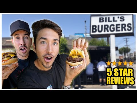 Eating The Best Reviewed Burger Stand In My City (Los Angeles) *91 YEAR OLD COOK* thumbnail