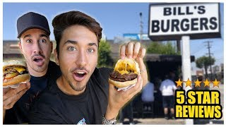 Eating The Best Reviewed Burger Stand In My City (Los Angeles) *91 YEAR OLD COOK*