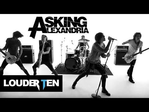 Top 10 Asking Alexandria Songs  Louder Ten