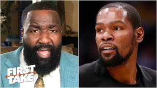 Kendrick Perkins responds to Kevin Durant calling him out | First Take