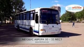 Автобус на свадьбу Аврора 30-35 мест | Аренда, заказ, прокат | Трансфер Престиж Киров