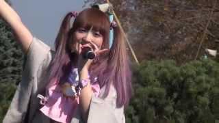 百合が原公園「紅葉祭」。 北大アイドルプロジェクトのステージです。 ※...