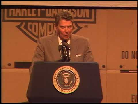 President Reagan's Remarks to Harley-Davidson Company Employees in York, Pennsylvania on May 6, 1987
