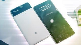 Pixel 2 XL vs Samsung Galaxy Note 8