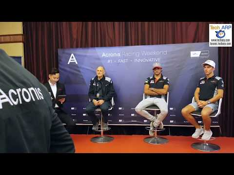 The Scuderia Toro Rosso Interview @ Acronis Racing Weekend 2017