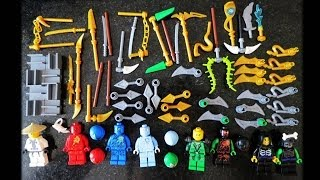 Lego Ninjago BOLE The Final Battle Bootleg Minifigures pack Review