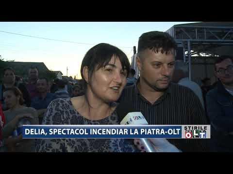 DELIA SPECTACOL INCENDIAR LA PIATRA OLT 2205