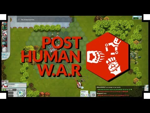 Post Human W.A.R. - (Tactical Turn-Based Strategy Game)