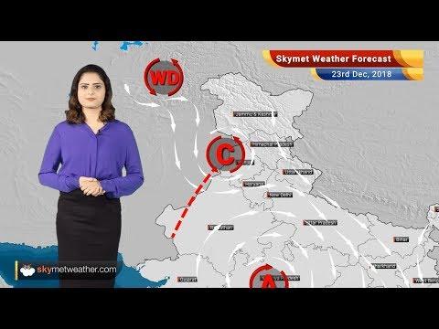 Weather Forecast for Dec 23: Tamil Nadu, Kerala, Karnataka, Andhra Pradesh to witness light rains