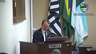 18ª Sessão Ordinária - Vereador Vanderlei Pinatto