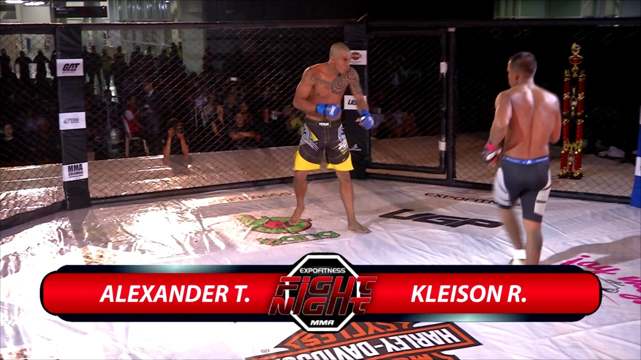 Expofitness Fight Night by UGP FFC - Alexander Torrivilla Vs Kleison Reales