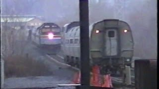 Amtrak in Upstate NY 2000 - Part 2