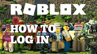 how to log in to roblox account for android phone