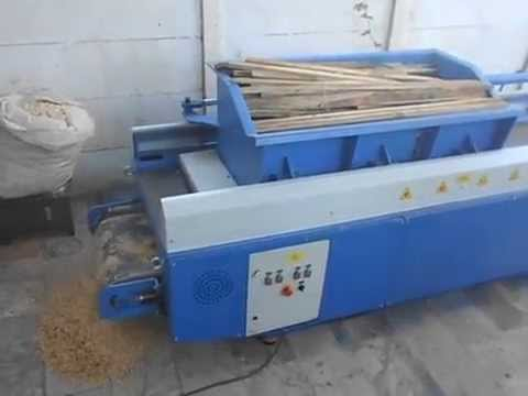 wood shaving machine using with small pieces of wood youtube. Black Bedroom Furniture Sets. Home Design Ideas